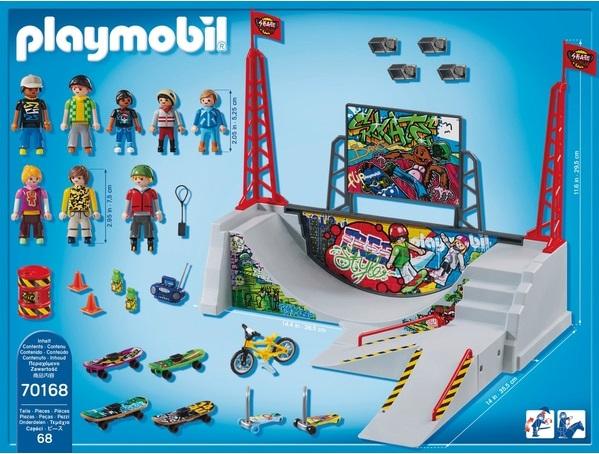 Playmobil 70168-ger - Skaterpark - Back