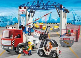 Playmobil - 70169-ger - Cargohalle