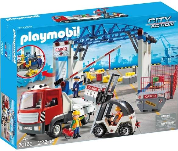 Playmobil 70169-ger - Cargohalle - Box