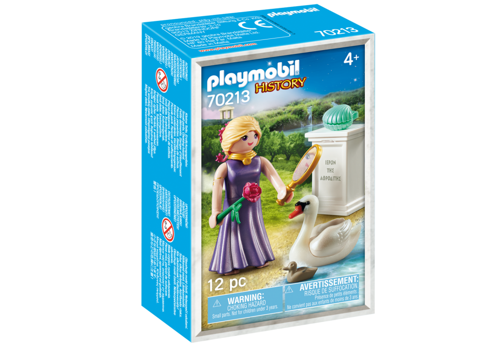 Playmobil 70213-gre - Aphrodite Greek Goddess - Box