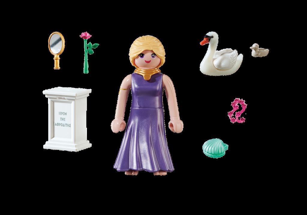Playmobil 70213-gre - Aphrodite Greek Goddess - Back