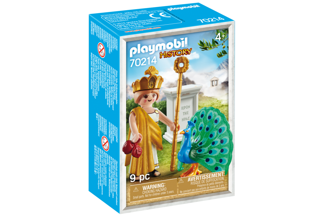 Playmobil 70214-gre - Hera Greek Goddess - Box