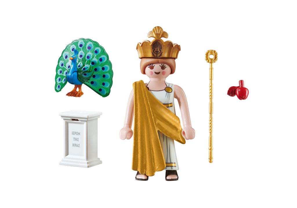 Playmobil 70214-gre - Hera Greek Goddess - Back