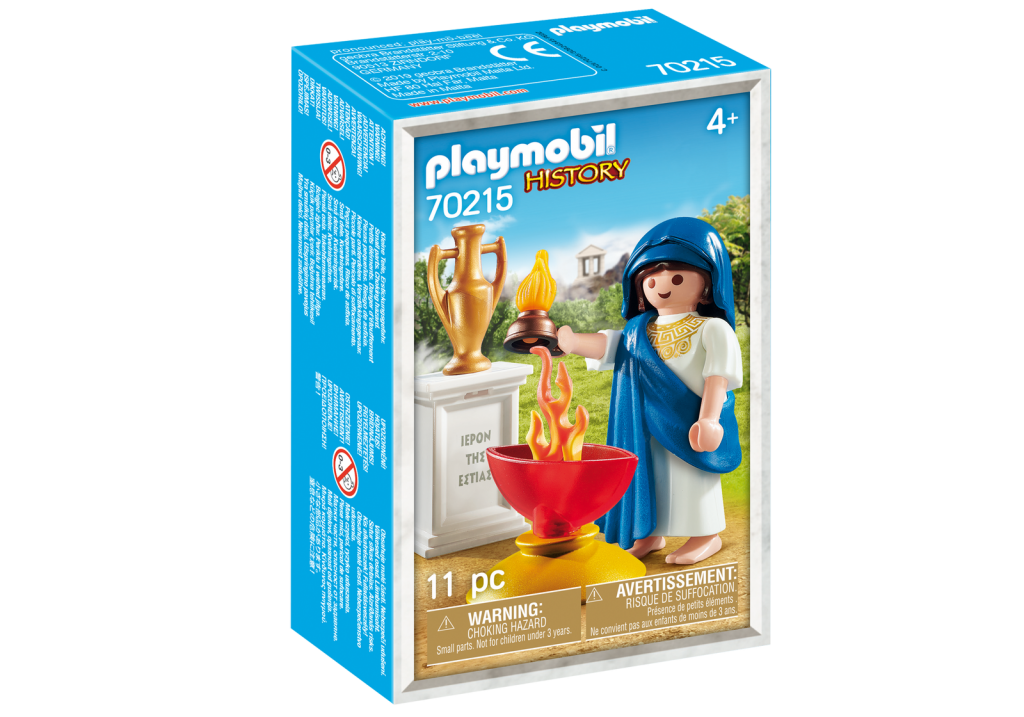 Playmobil 70215-gre - Hestia Greek Goddess - Box