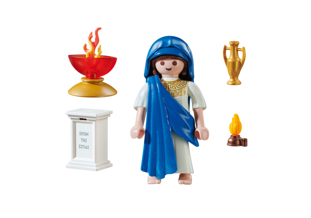 Playmobil 70215-gre - Hestia Greek Goddess - Back