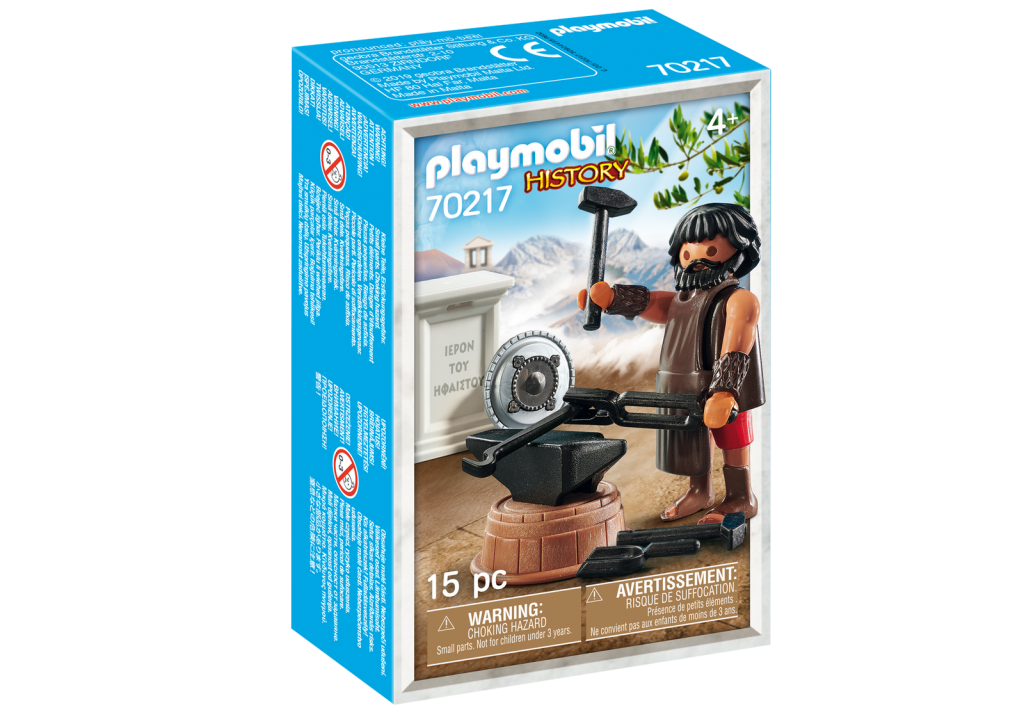 Playmobil 70217-gre - Hephaestus Greek God - Box