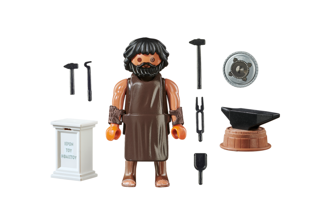 Playmobil 70217-gre - Hephaestus Greek God - Back