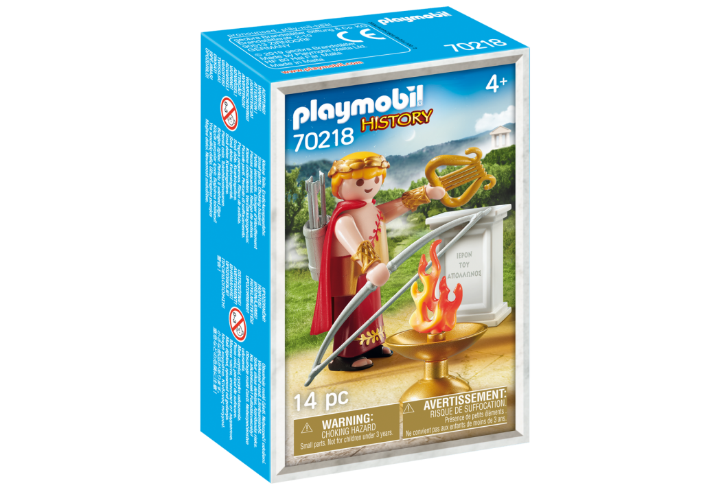 Playmobil 70218-gre - Apollo Greek God - Box