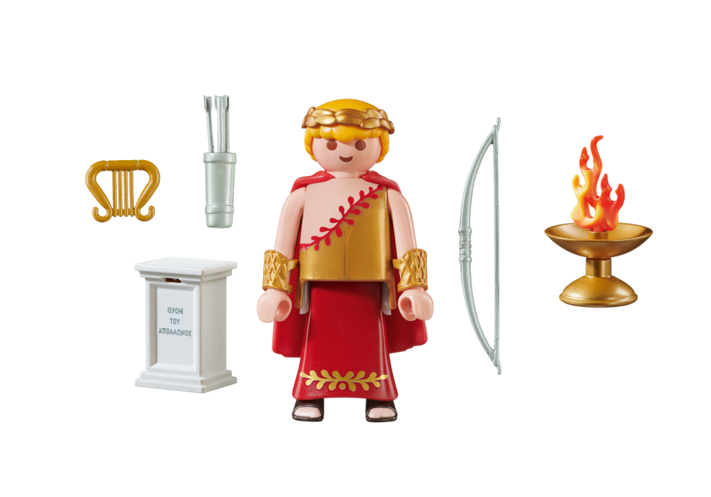 Playmobil 70218-gre - Apollo Greek God - Back