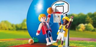 Playmobil - 9210 - One-on-One Basketball
