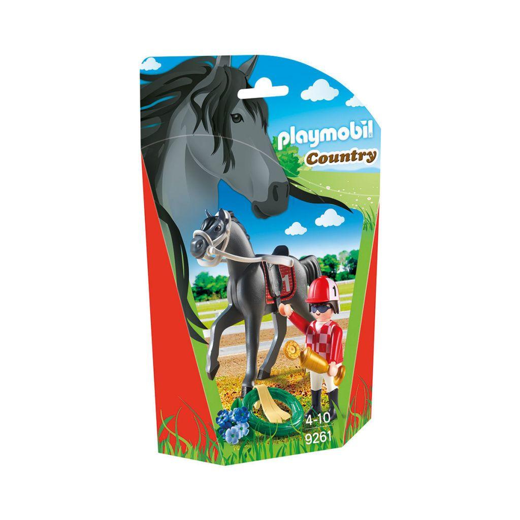 Playmobil 9261 - Jockey - Box