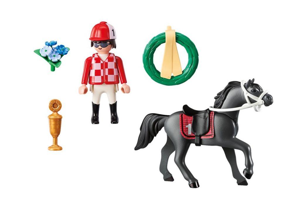 Playmobil 9261 - Jockey - Back