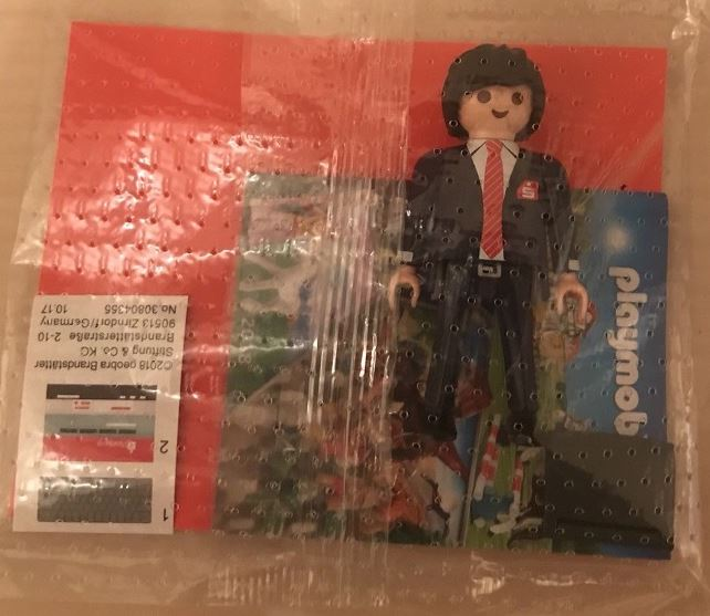 Playmobil 30804345-ger - Banker with computer Sparkasse - Box