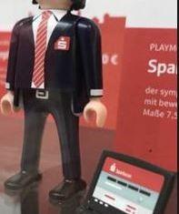 Playmobil - 30804345-ger - Banker with computer Sparkasse