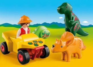 Playmobil - 9120 - Dinoforscher mit Quad