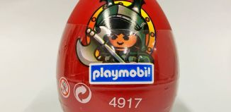 Playmobil - 4917v4-esp - Red Egg Dark Knight