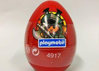 Playmobil - 4917v4-esp - Dunkler Ritter (Rotes Ei)