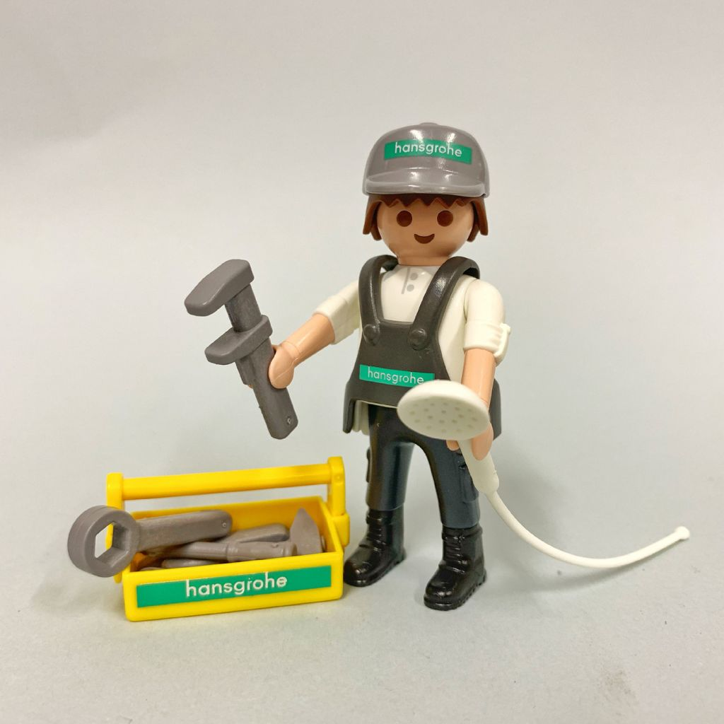 Playmobil 9538 - Worker Hansgrohe - Back