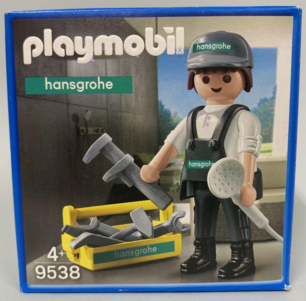 Playmobil 9538 - Worker Hansgrohe - Box