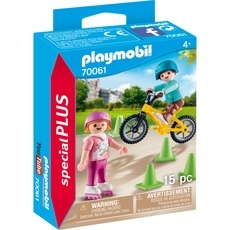 Playmobil 70061 - Kids with skates and BMX - Box