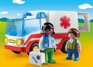 Playmobil - 9122 - Rettungswagen