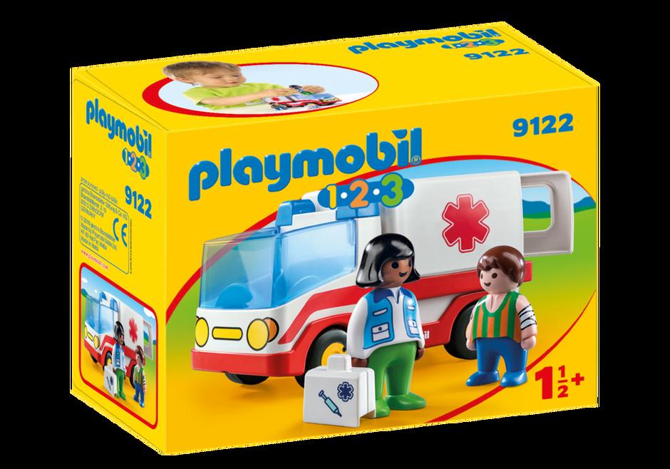 Playmobil 9122 - Rettungswagen - Box
