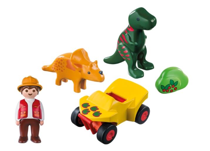 Playmobil 9120 - Dinoforscher mit Quad - Back