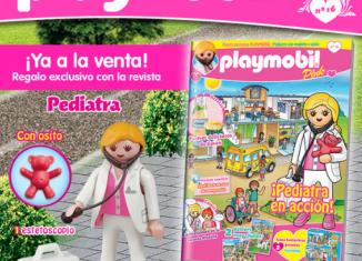 Playmobil - 30792364 - Pediatrician nurse