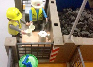 Playmobil - Almacén de equipos de construcción