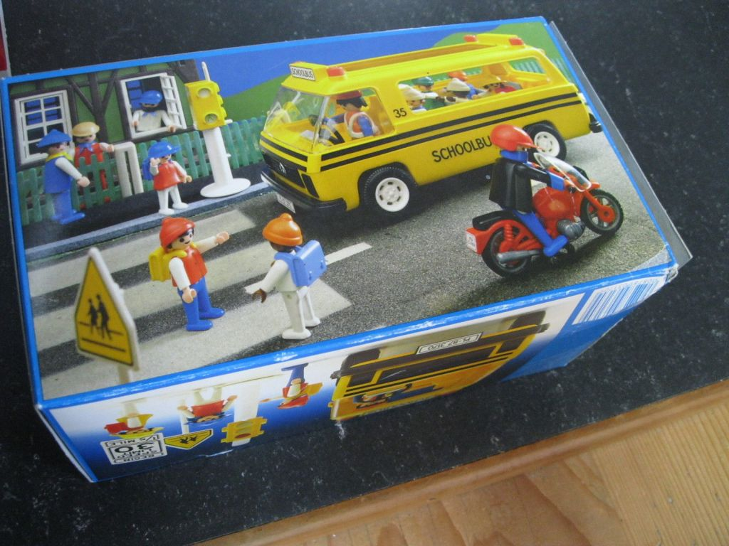 Playmobil 3170s1v2-usa - Schoolbus - Box
