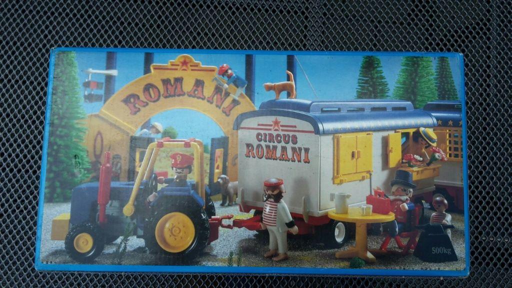 Playmobil 3728 - Strongman's Trailer - Box