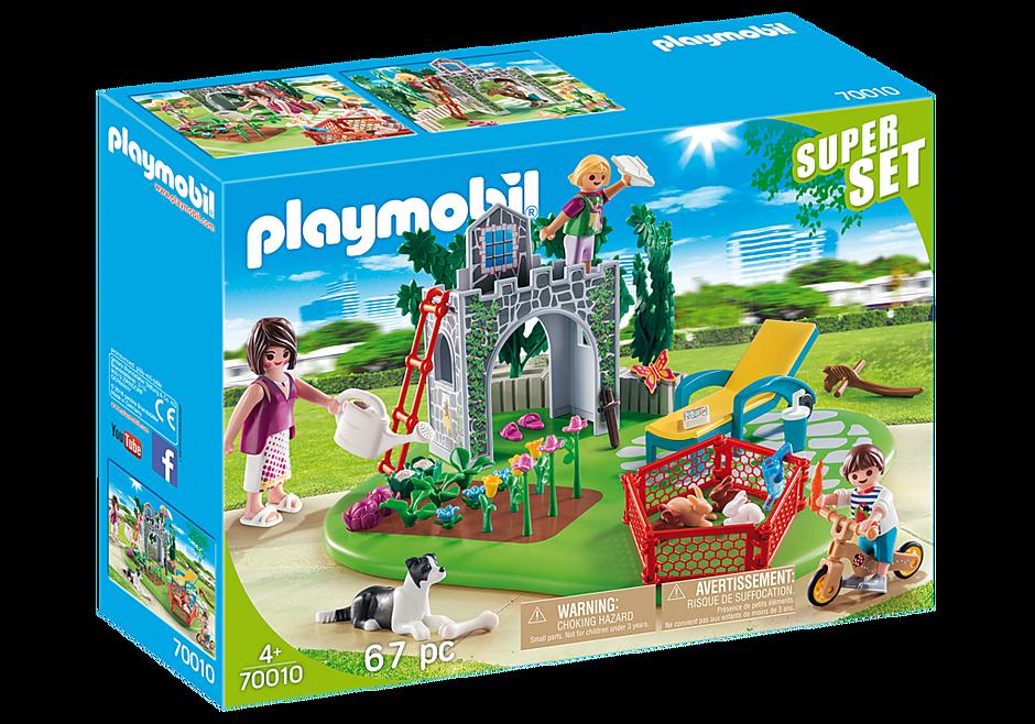 Playmobil 70010 - SuperSet Family Garden - Box