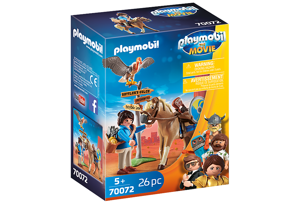 Playmobil 70072 - Marla with Horse - Box