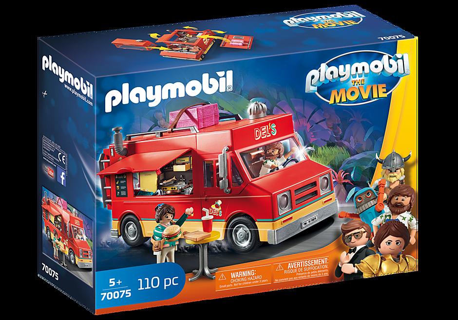 Playmobil 70075 - Del's Food Truck - Box