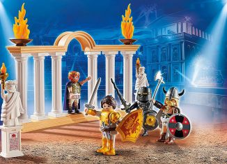 Playmobil - 70076 - PLAYMOBIL:THE MOVIE Emperor Maximus in the Colosseum
