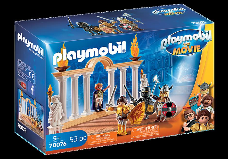Playmobil 70076 - PLAYMOBIL:THE MOVIE Kaiser Maximus im Kolosseum - Box