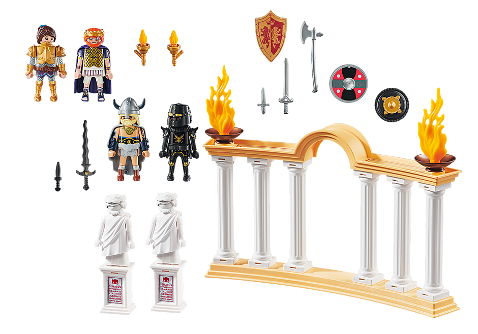 Playmobil 70076 - PLAYMOBIL:THE MOVIE Kaiser Maximus im Kolosseum - Back