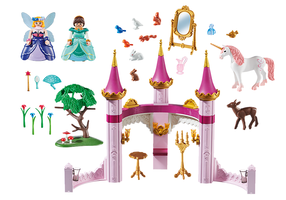 Playmobil 70077 - PLAYMOBIL:THE MOVIE Marla in the Fairytale Castle - Back