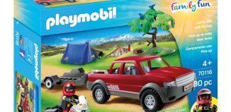 Playmobil - 70116 - Camp Site with Pickup