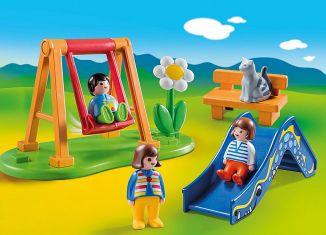 Playmobil - 70130 - Kinderspielplatz