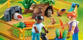 Playmobil - 70137 - Farm Animal Enclosure