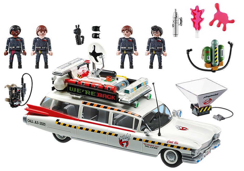 Playmobil 70170 - Ghostbusters Ecto-1A - Back