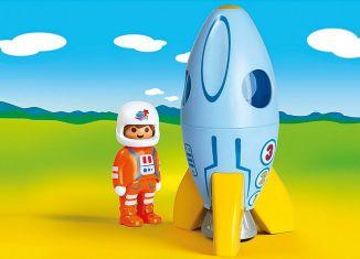 Playmobil - 70186 - Astronaut mit Rakete
