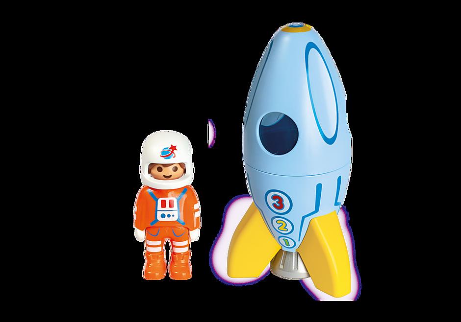 Playmobil 70186 - Astronaut mit Rakete - Back