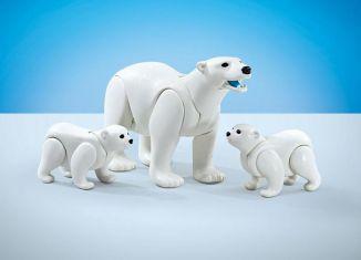 Playmobil - 9833 - Polar Bear Family