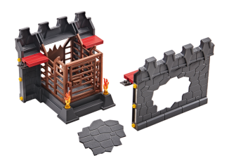 Playmobil - 9841 - Wall Extension with Prison and Wall Breakthrough