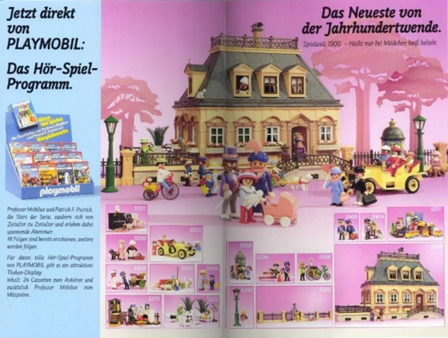 Playmobil D0256/01.90-ger - Neuheiten Katalog 1990 - Back