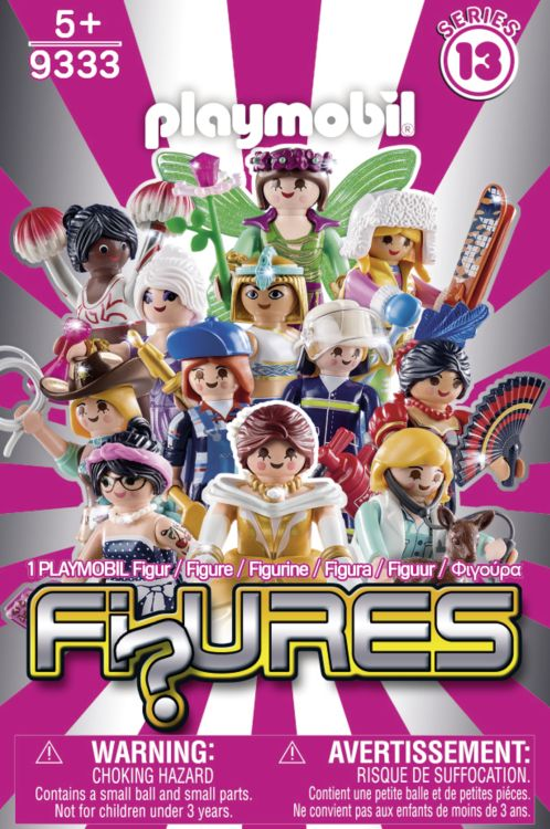 Playmobil 9333 - Figuras Series 13 - Girls - Box