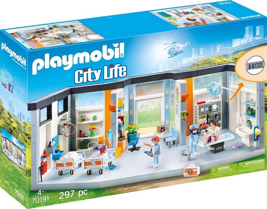 Playmobil 70191 - Hospital floor - Box
