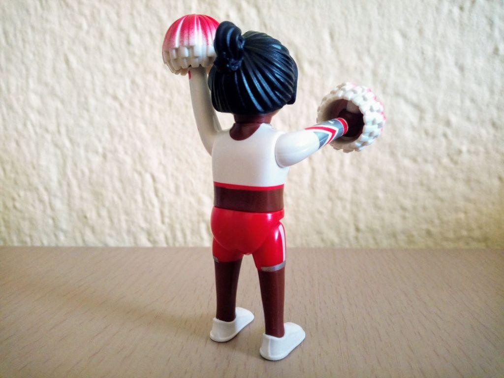 Playmobil 9333v3 - Cheerleader - Back